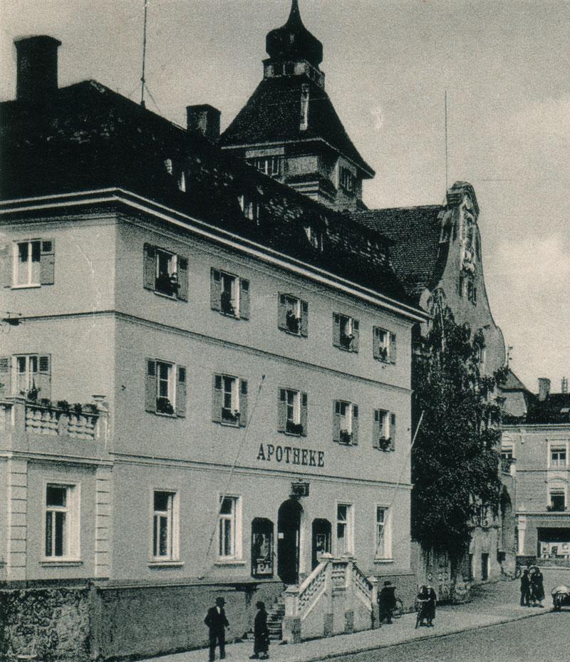 Die Stadt-Apotheke in den 30er/40er Jahren