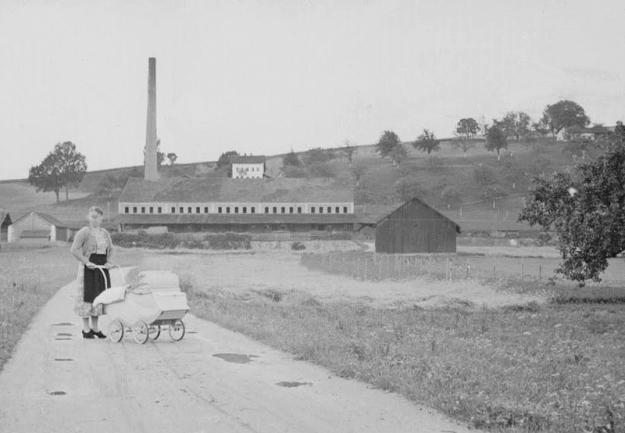Die Ziegelei Scheiblhuber in Obersimbach (Archiv H. Huber)