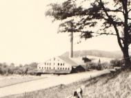 Ansicht der Ziegelei Scheiblhuber, von der Marienhöhe aus gesehen (Archiv H. Huber)
