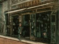 Ansicht der Eisenwarenhandlung Josef Graf in der Innstraße