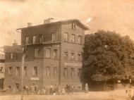 Ansichtskarte des Gasthauses Michael Sterner in der Innstraße, um 1910