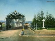 Der Braunauer Brückenkopf mit dem Kaiserdenkmal