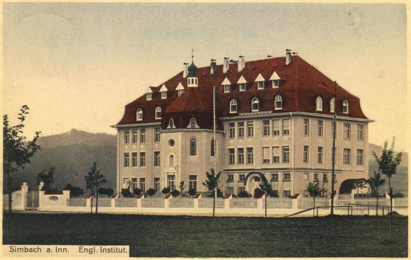 Das Institut Marienöhe 1912