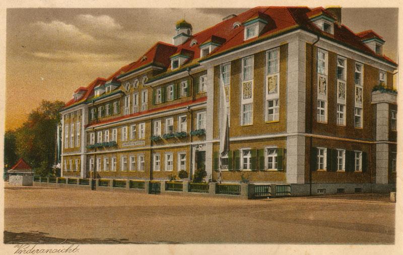 Das Institut Mariental um das Jahr 1929, kurz nach seiner Erbauung