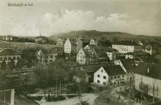 Ein Blick in Richtung Nordwesten, um 1912