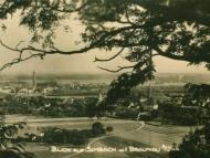 Blick auf Simbach und Braunau, um 1940