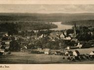 Ansicht von Simbach mit dem Inn