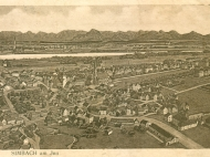 Stadtplan von Simbach um 1919