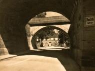 Der Viadukt in der Innstraße, in den 1930er Jahren